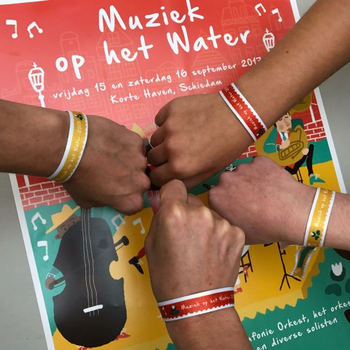 muziek op het water 2017 poster illustratie - illustrator: steffanie le sage