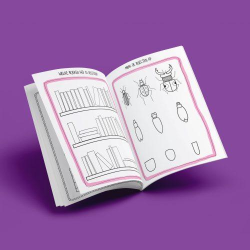 kruidvat doodling illustratie - illustrator: steffanie le sage