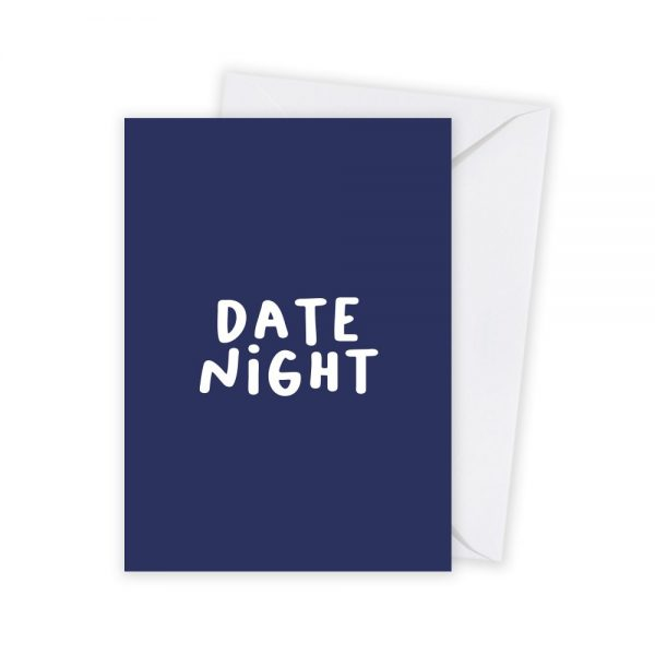 valentijn datenight kaart illustratie - illustrator: steffanie le sage
