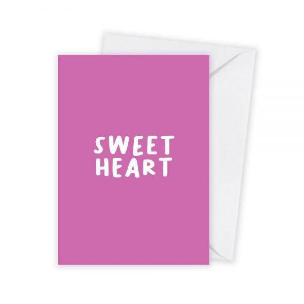 valentijn sweetheart kaart illustratie - illustrator: steffanie le sage