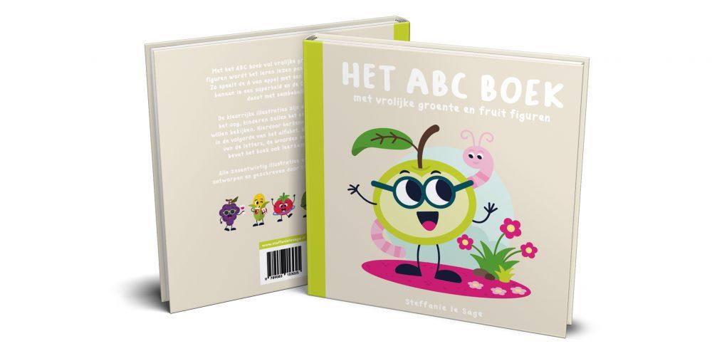 Het ABC boek met vrolijke groente en fruit figuren - Steffanie le Sage
